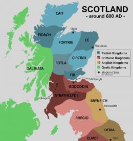 Scotland around 600 AD (click to enlarge)