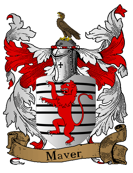 Illustration of the Maver coat of arms